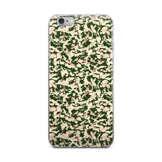 Italian Desert CAMO iPhone case
