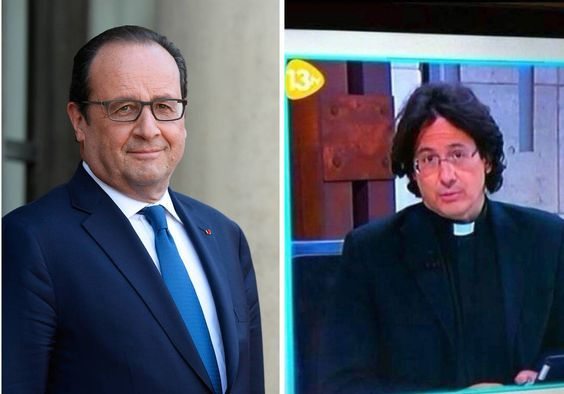Javier Alonso Sandoica, le sosie de François Hollande