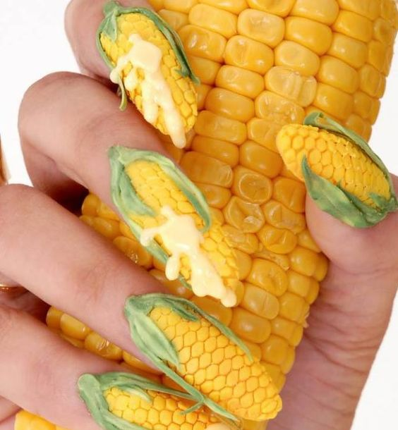 diseños de uñas más raras