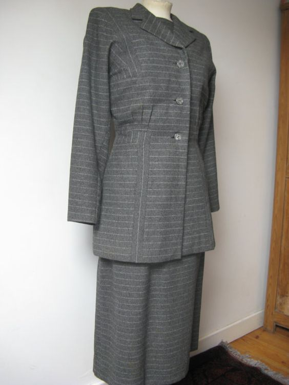 40's dress and Jacket