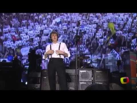 Hey Jude - Paul McCartney (live in Rio de Janeiro)