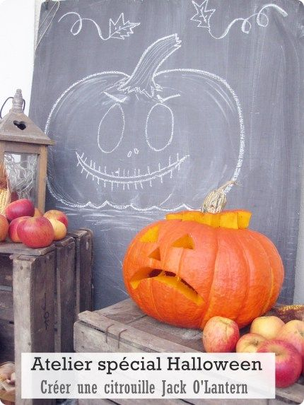 Atelier spécial Halloween-Créer une citrouille Jack O'Lantern -