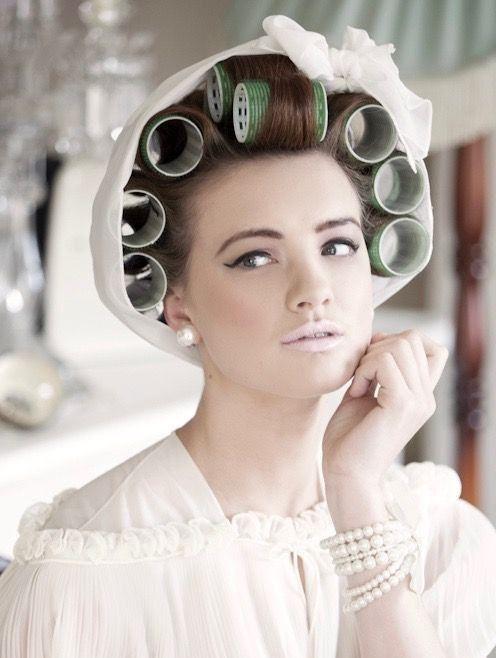 Foulard Sur Mise En Plis Haircurler Hair Curlers Hair Rollers Hair Curlers Rollers