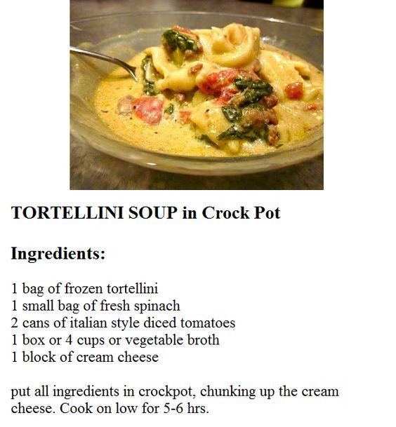 mom italian tortellini jars tortellini soup soups spaghetti recipe ...