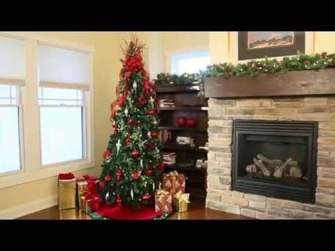 Pre Lit Noble Pine Pull Up Christmas Tree 6 1 2 Improvements Catalog Youtube Arboles De Navidad Decorados Arbol De Navidad Navidad