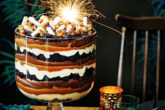 Easy Coffee Cake Recipe Jamie Oliver: Jamie Oliver's Take On The Festive Trifle Is An Epic Jam