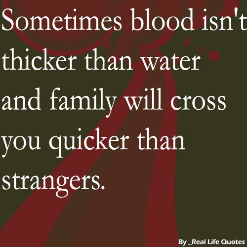 Blood is thicker than water definition essay