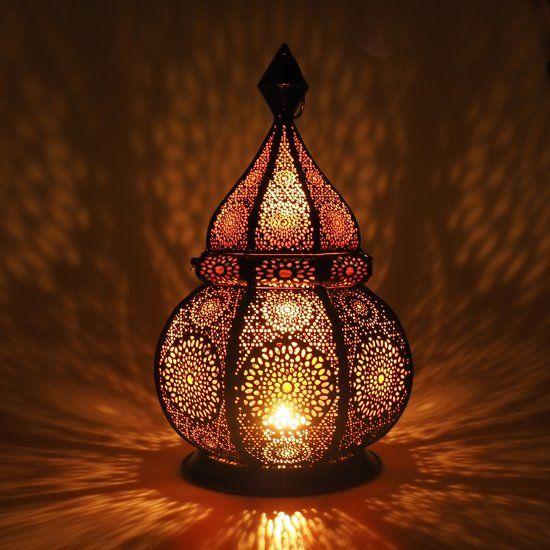 Gadgy Oosterse Lantaarn Marokkaanse Lamp Sfeerlicht Geschikt