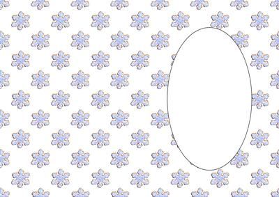 Snowflake Cookies Blue Insert on Craftsuprint designed by Apetroae Stefan - Snowflake Cookies Blue Insert - Now available for download!