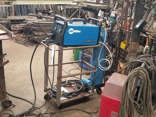 Multimatic 215 Multiprocess Welder Welders Tig Welder Welding