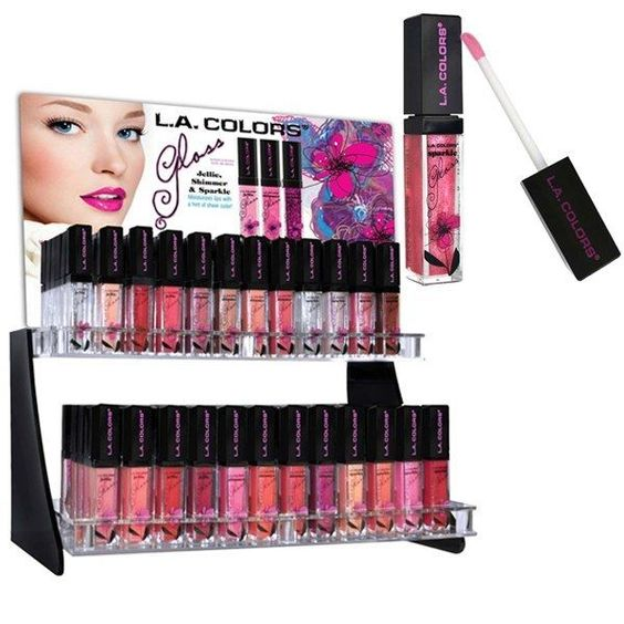 93/3 Lip Gloss Color Jellie Shimmer & Sparkle Moisturizes Lips Hint of Sheer ♫♪❤ #LAColors