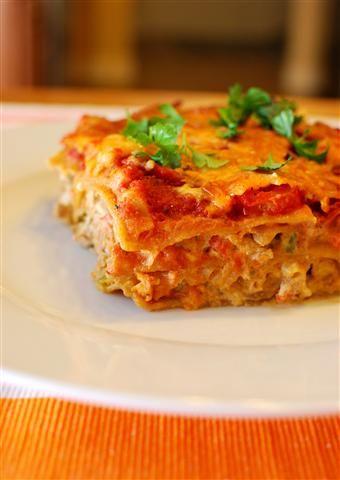 Slimming world spicy mexican chicken lasagne