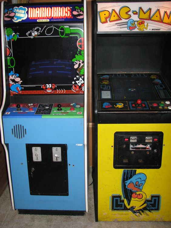 mario bros arcade machine