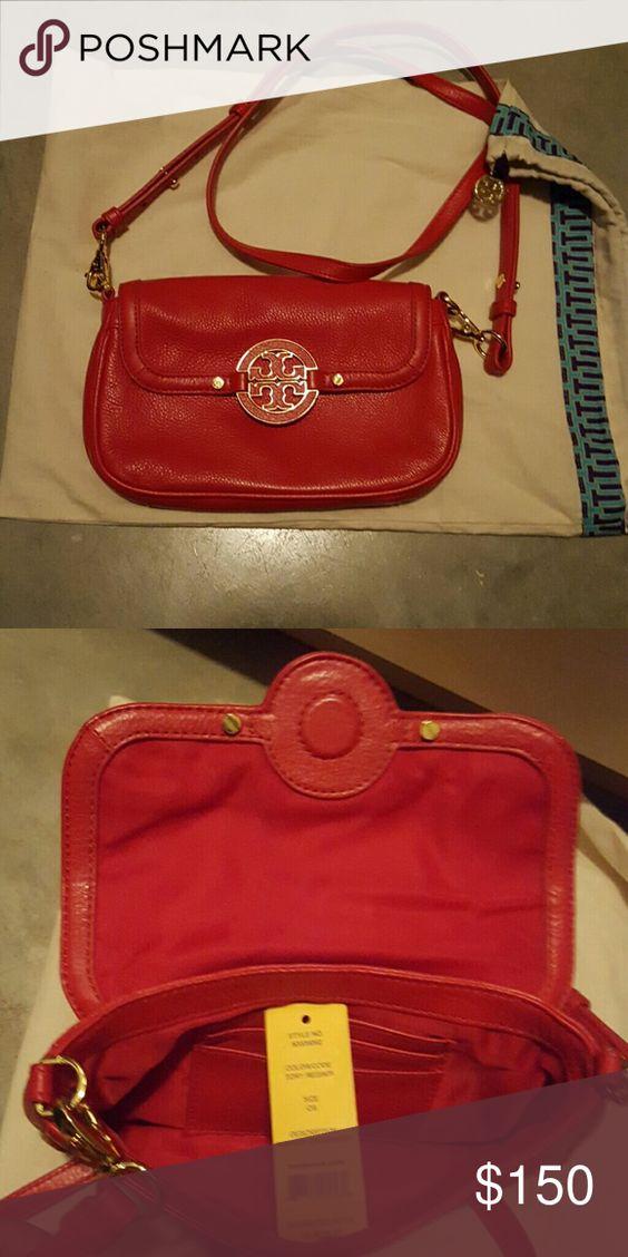 Tory burch Amanda crossbody Tory red/605 Bags Crossbody Bags
