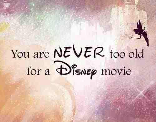 I've literally cried watching the same disney movies i grew up with, with my son. Disney is timeless. Shared for generations. It's amazing