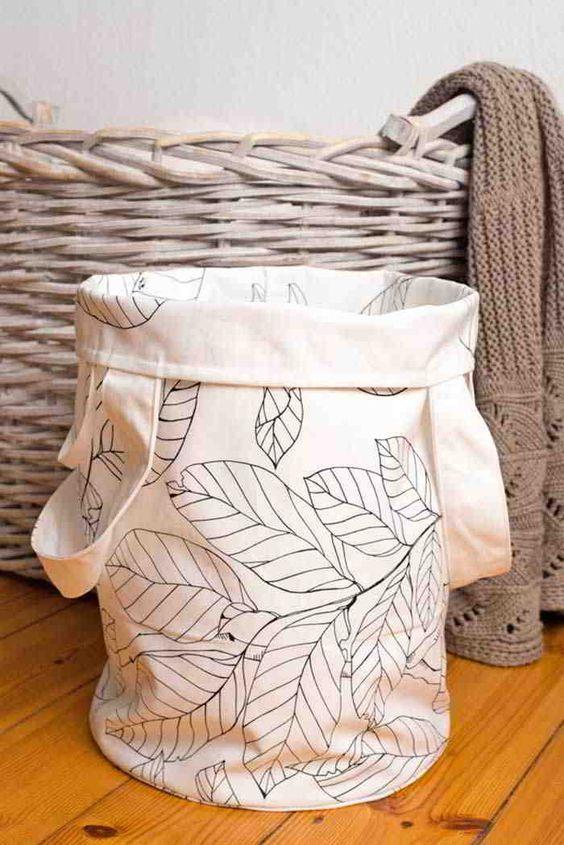 DIY: Comment coudre un sac à linge