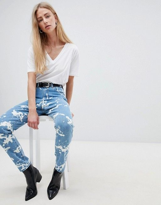 Denim Mujer Straight Jeans Nora Dr