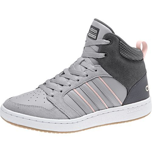 Adidas Women S Cloudfoam Super Hoops Mid Basketball Shoes View Number 2 Adidas Sneakers Women Womens Sneakers Shoes