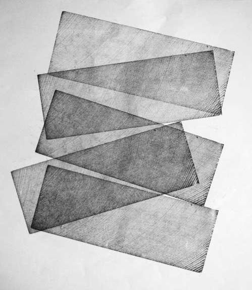 from the portfolio of Sergio Garcia, http://www.12points1pica.co...  A series of letterpress prints focused on the use of spacing material (em squares and leads)   to explore concepts of time and meter (rhythm, order, motion, sequence, activity/passivity).