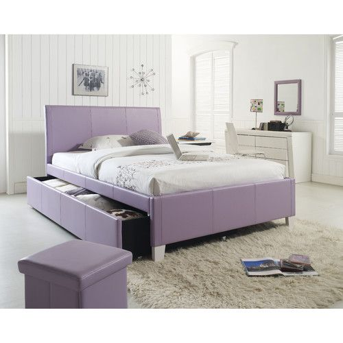 Found it at Wayfair - Fantasia Panel Bed with Trundle