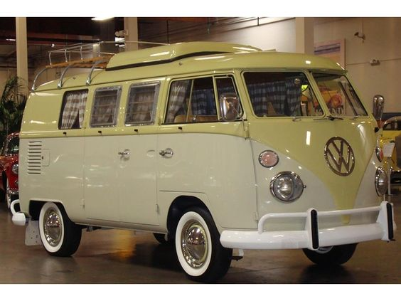 Want to roll up in the camp ground in this!