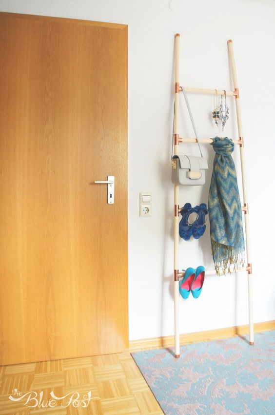 The Blue Post: DIY Coletivo: Escada para decorar e organizar