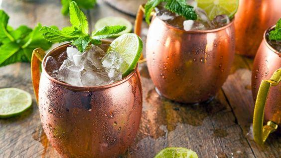 Gin Gin Mule ricetta originale, cocktail con gin zenzero e lime, cocktail