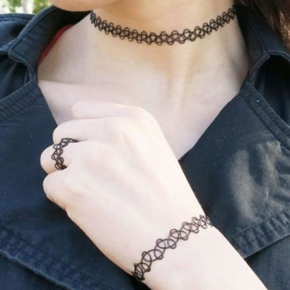 2.87$  Buy now - http://di8fo.justgood.pw/go.php?t=181562801 - A Suit of Hollow Out Necklace Bracelet and Ring 2.87$