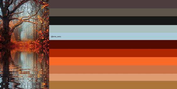 Autumn reflections: original image via http://stylowi.pl/XaraPicasso/892538/podroze-marzen