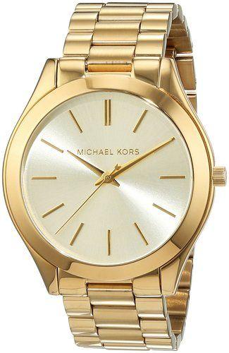 Precio: EUR 119,00 Envío gratis. Precio final del producto Michael Kors MK3179 - Reloj de cuarzo con correa de acero inoxidable para mujer, color dorado