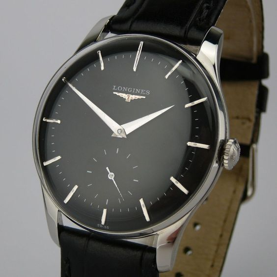 Watches Classic History Gift Ideas Forward Vintage Longines Black Dial