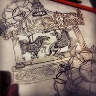 merry go round tattoo - Google Search