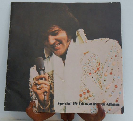 Elvis Presley Photo Booklet  Special TV Edition by filecutter, $10.00