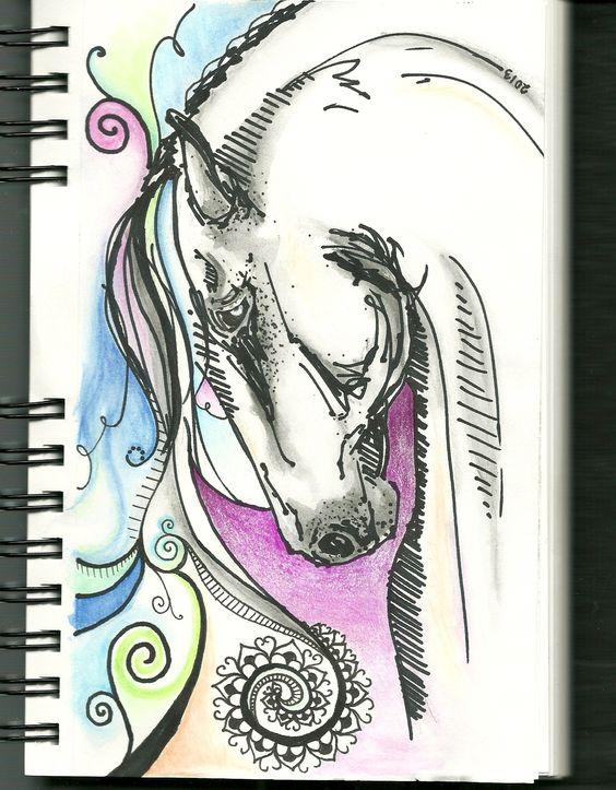 i like horses ;) ~KVP