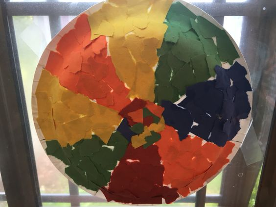 Beach ball paper plate & Beach ball paper plate | Arts and crafts for school | Pinterest ...
