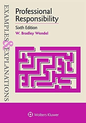 Read Book Examples Explanations For Professional Responsibility Download Pdf Free Epub Mobi Ebooks No Response Ebook Pdf Books