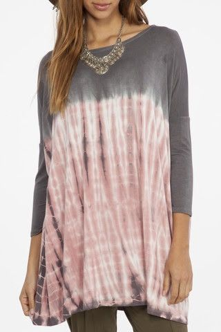 The Perfect Tie Dye Tunic