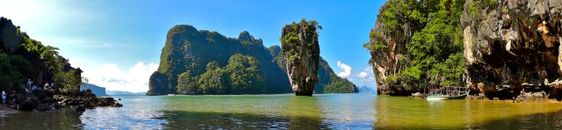 7 Wonders of the Backpacker's World - Phang Nga Bay, Thailand - First for Everything