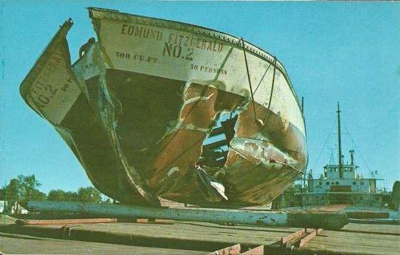 Rare photos: Edmund Fitzgerald  |Edmund Fitzgerald Crew Remains