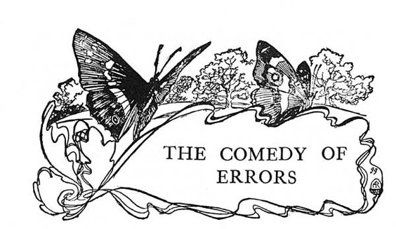 The Comedy of Errors -Arthur Rackham -Tales from Shakespeare