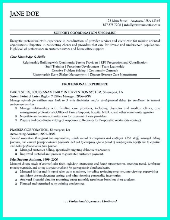 Case Management Resume Some People Make Mistakes When They Make Their Case Manager Resume