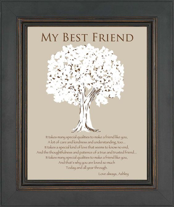 Best Gift For Best Friend Wedding: Personalized Gift For A Special Friend