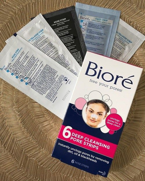 Biore Deep Cleansing Pore Strips Review With Images Pore
