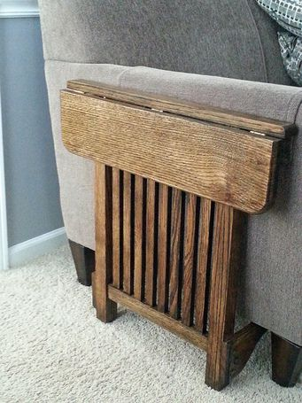 Space Saving End Table