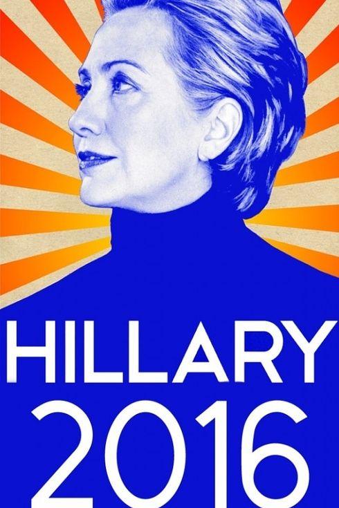 Affiche campagne électorale Hillary Clinton