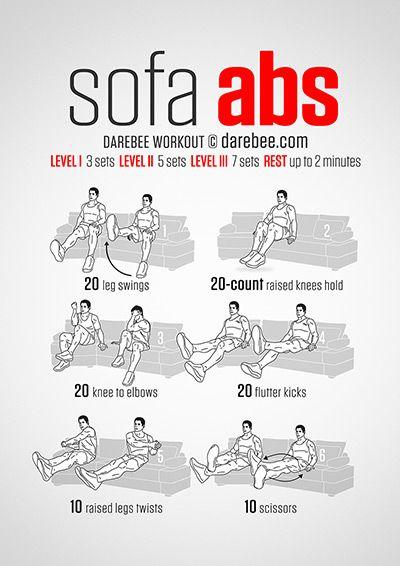 Sofa Abs Workout aka easy