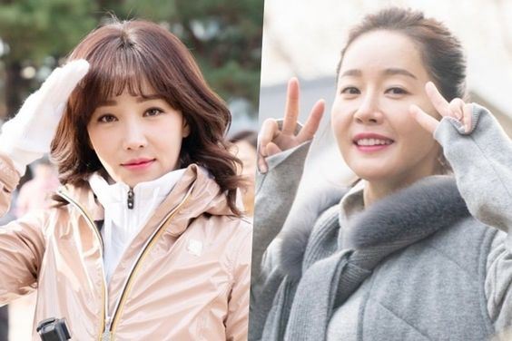 """Lee Yoo Ri And Uhm Ji Won Show Amazing Chemistry Behind-The-Scenes Of """"Spring Turns To Spring"""""""