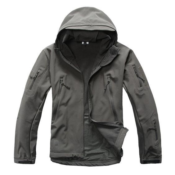 Dmart7dealTACVASEN Army Military Tactical Jacket men Soft Shell Waterproof Windproof Man Jacket Coat Plus Size 4XL