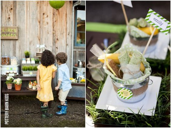 time to grow birthday party (or just a lil' spring fling ?)