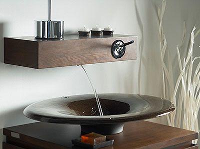 Google on pinterest for Llaves modernas para lavamanos